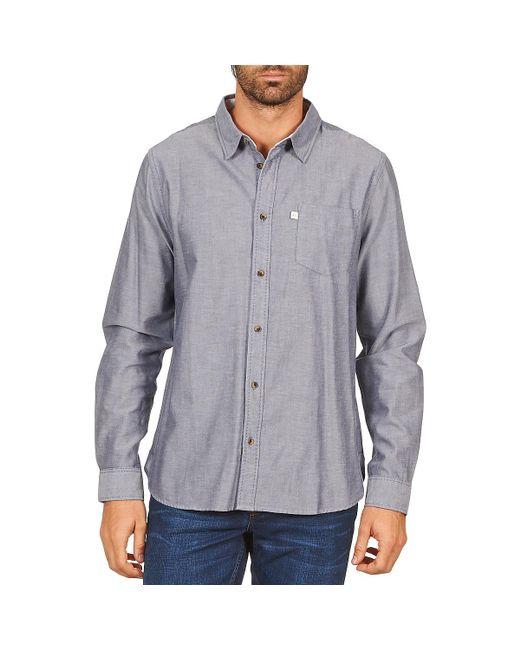 Chevignon - Blue Cl Oxford Long Sleeved Shirt for Men - Lyst