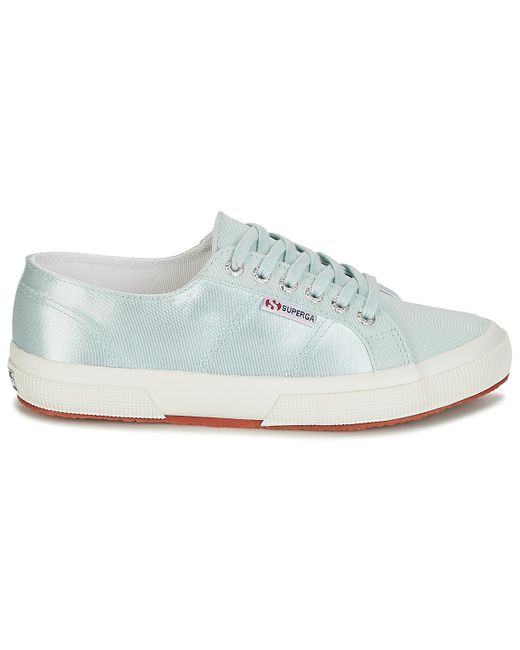 Superga Blue 2750 Satin W Shoes (trainers)