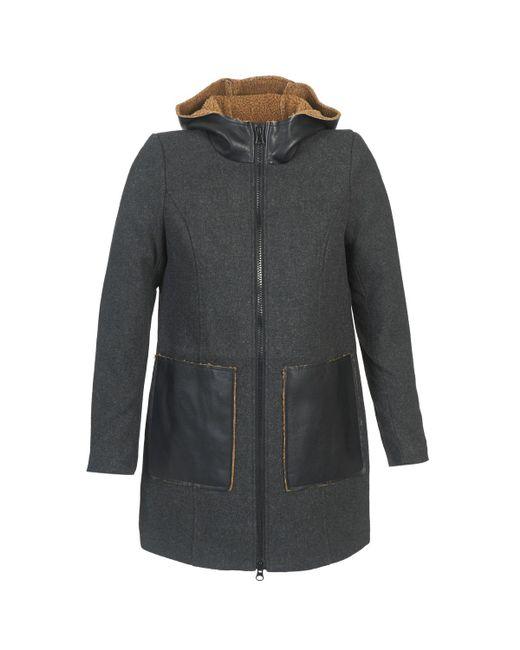 Vero Moda - Gray Empire Coat - Lyst