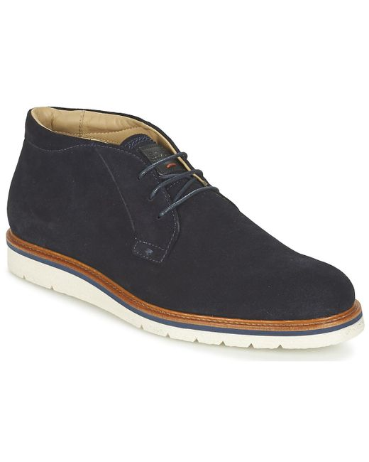 BOSS Orange - Blue 50328960 Mid Boots for Men - Lyst