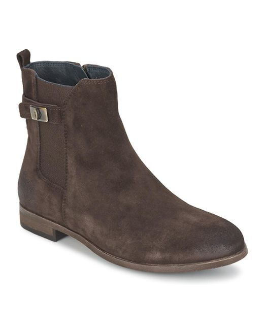 Tommy Hilfiger | Brown Billie 10b Low Ankle Boots | Lyst