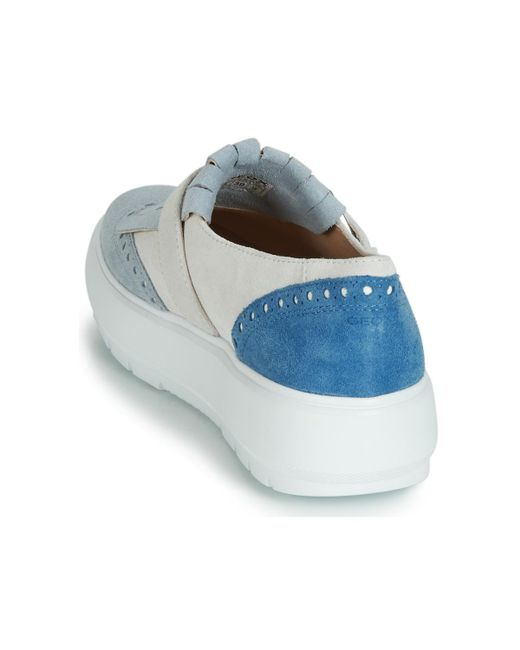 Cardenal moral Profecía  Geox D Kaula Slip-ons (shoes) in White - Lyst
