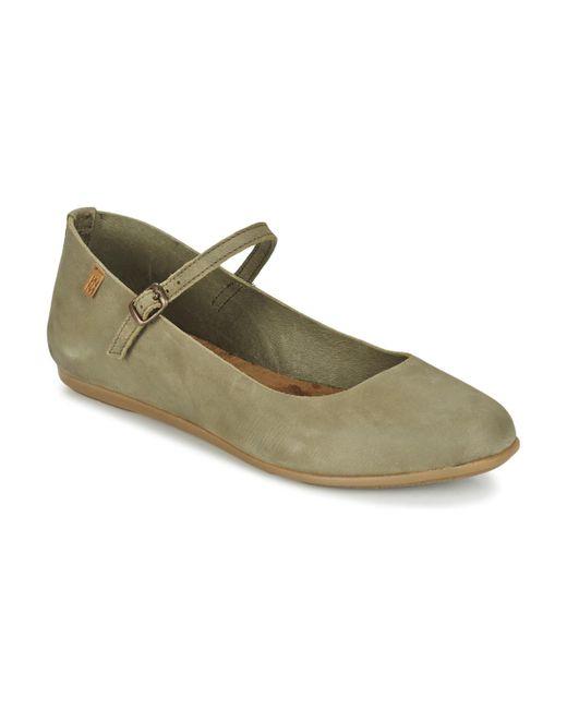 El Naturalista | Gray Stella Shoes (pumps / Ballerinas) | Lyst