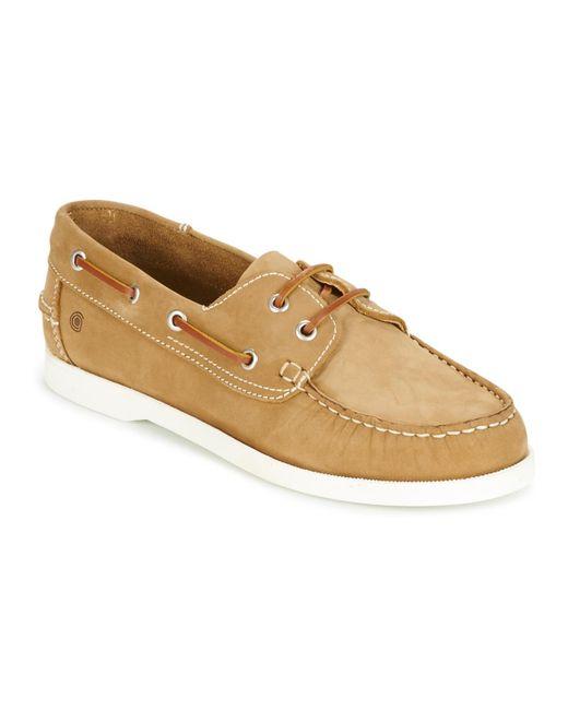 Casual Attitude - Brown Revoro Boat Shoes for Men - Lyst