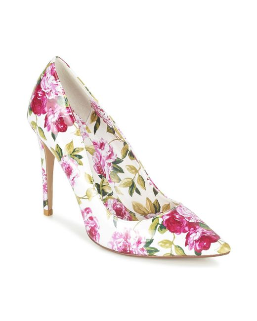 Dune - Pink Bloom Court Shoes - Lyst