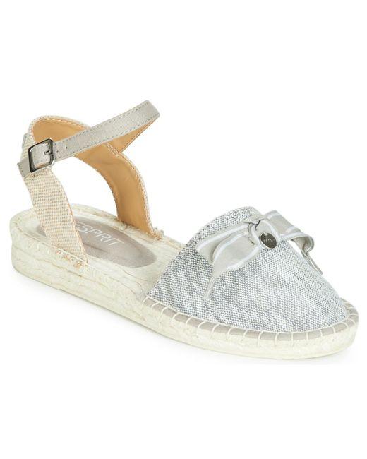 Esprit Gray Sanaz Sandal Espadrilles / Casual Shoes