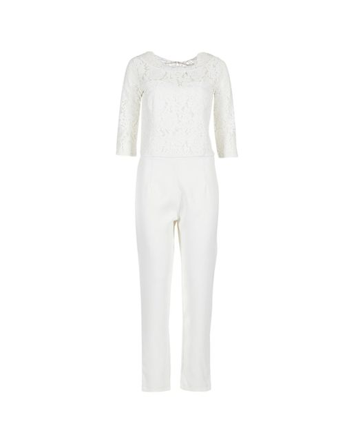 Betty London - White Isaidyes Jumpsuit - Lyst