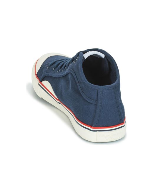 the best attitude 96954 97f5f Men's Blue Industry Basic Shoes (high-top Trainers)