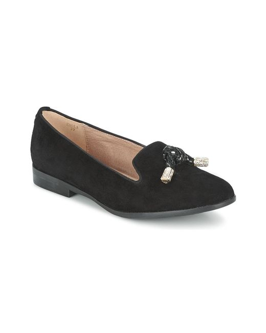 Moda In Pelle | Black Enola Loafers / Casual Shoes | Lyst