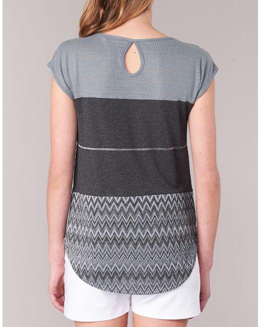 Desigual Gray Rominessa Women's T Shirt In Grey