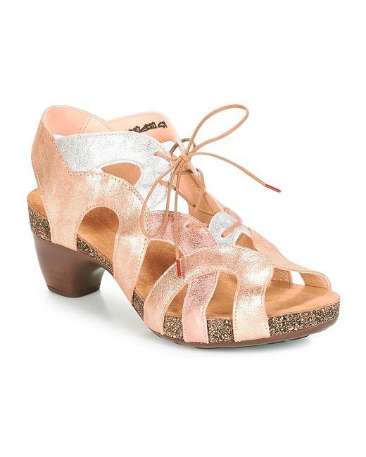 Think! Metallic Kyan Sandals