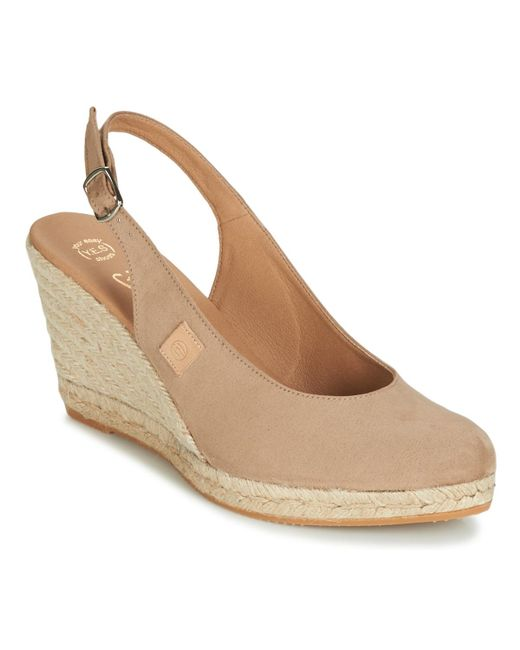 Betty London Natural Techno Sandals