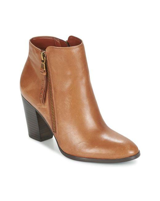 Ralph Lauren - Brown Fahari Low Boots - Lyst