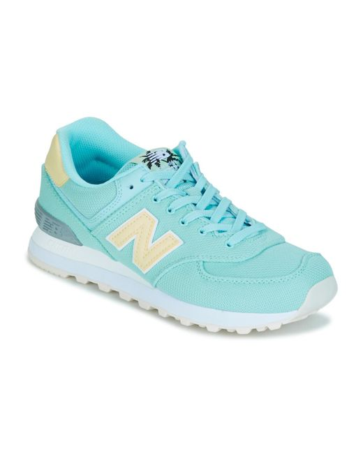 New Balance - Blue Wl574 Shoes (trainers) - Lyst