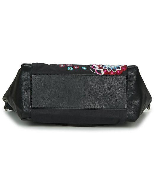ec4e8c29a7 ... Desigual - Black Aliki Maxton Shoulder Bag - Lyst ...