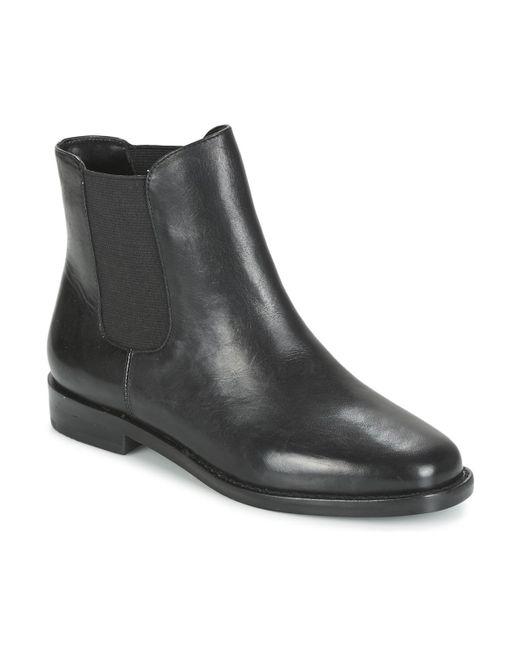 Ralph Lauren - Black Belva Mid Boots - Lyst
