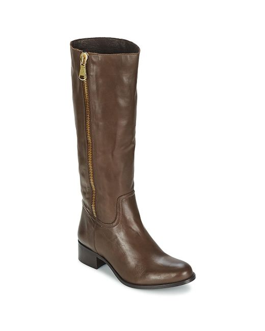 Betty London - Brown Normandia High Boots - Lyst