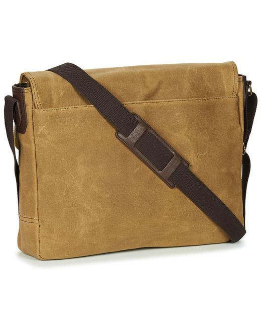c33f99a9a ... Casual Attitude - Natural Leonadi Messenger Bag for Men - Lyst ...