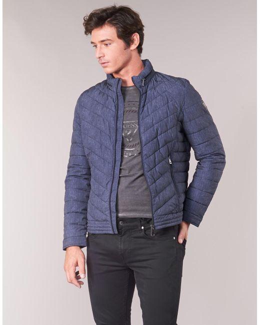 Guess m93l24 30% jackets herren blue