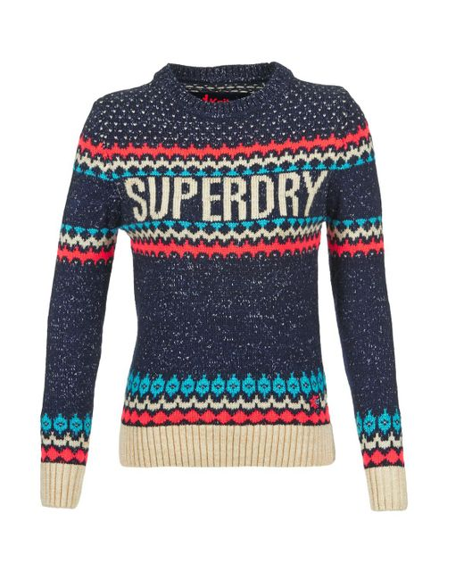 Superdry - Blue Morzine Jumper - Lyst