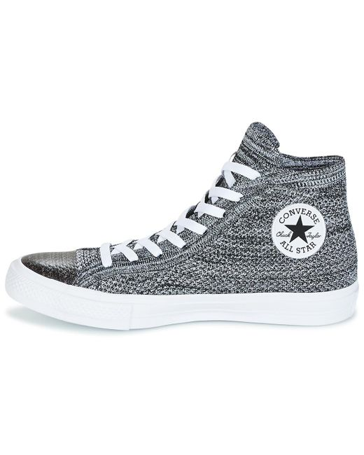 Converse CHUCK TAYLOR FLYKNIT HI High top trainers black