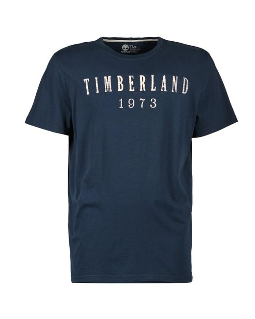 Timberland - Blue Ss Kennebec River T Shirt for Men - Lyst