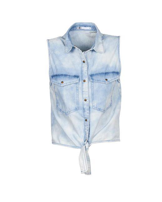 Volcom - Blue Sick Muse Short Sleeved Shirt - Lyst