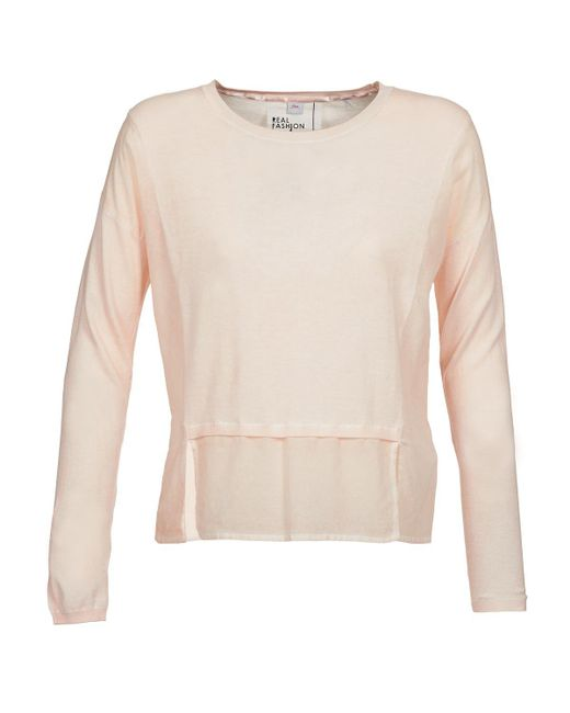 S.oliver | Pink Elmira Sweater | Lyst