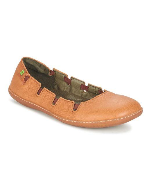 El Naturalista - Orange El Viajero Shoes (pumps / Ballerinas) - Lyst