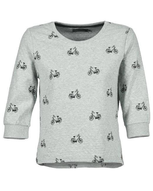 ONLY - Gray New Cameron Sweatshirt - Lyst
