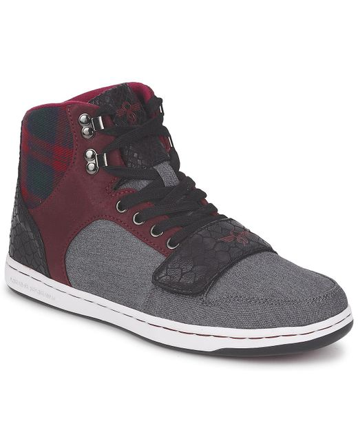 Creative Recreation - Gray W Cesario Shoes (high-top Trainers) for Men - Lyst