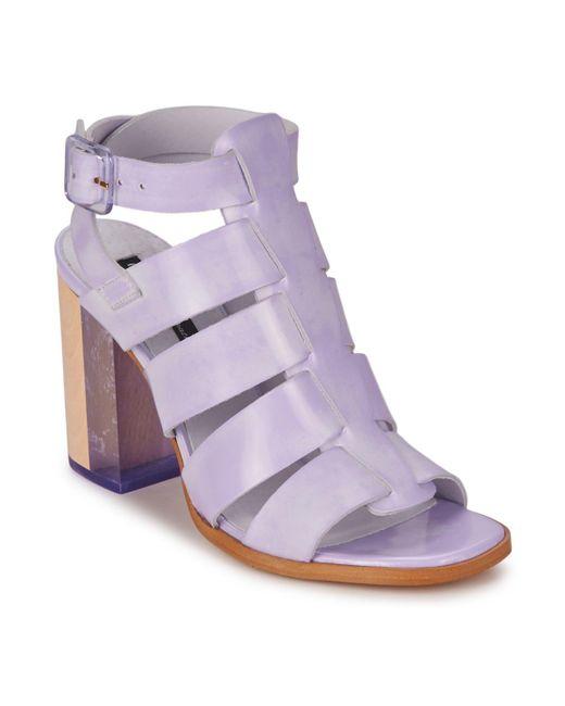 Miista - Purple Isabella Sandals - Lyst
