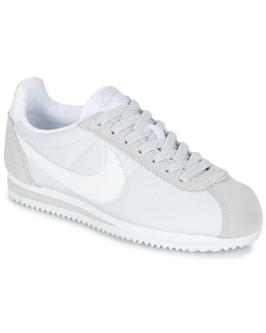 buy popular d5009 b8a89 Women's Gray Classic Cortez Nylon W Shoes (trainers)