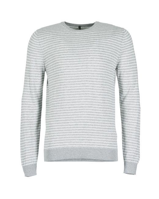 Benetton - Gray Rinino Sweater for Men - Lyst