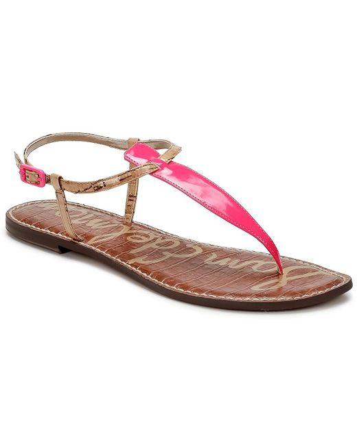 6ece83ed7d8971 Sam Edelman Gigi Sandals in Pink - Save 10.606060606060609% - Lyst