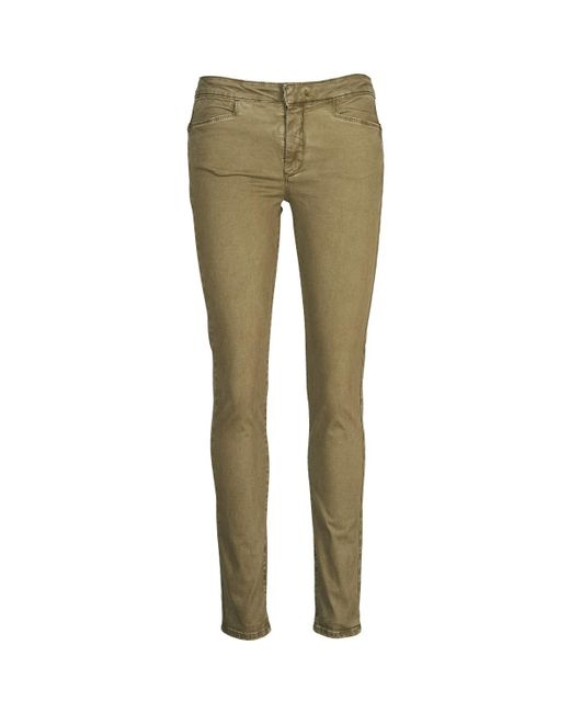 Acquaverde Brown Joe Skinny Jeans