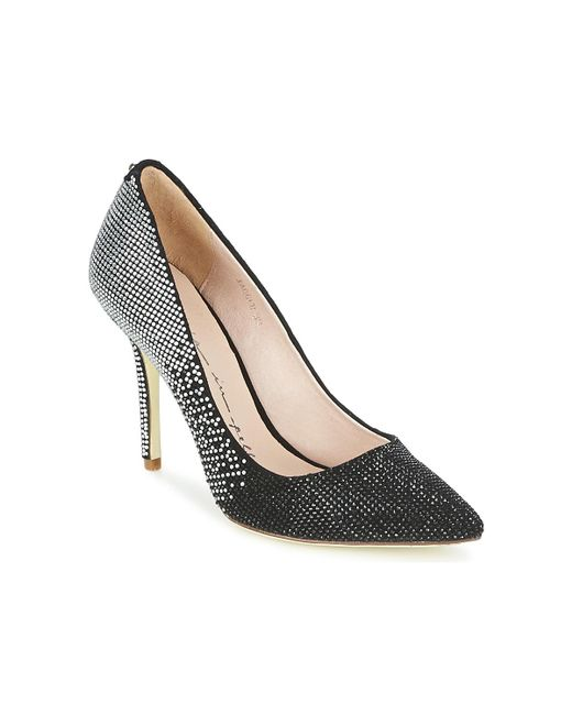 Moda In Pelle | Black Jagger Court Shoes | Lyst