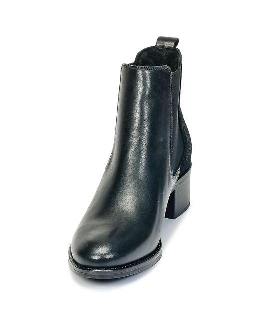 Betty London Hasni Women's Low Ankle Boots In Black