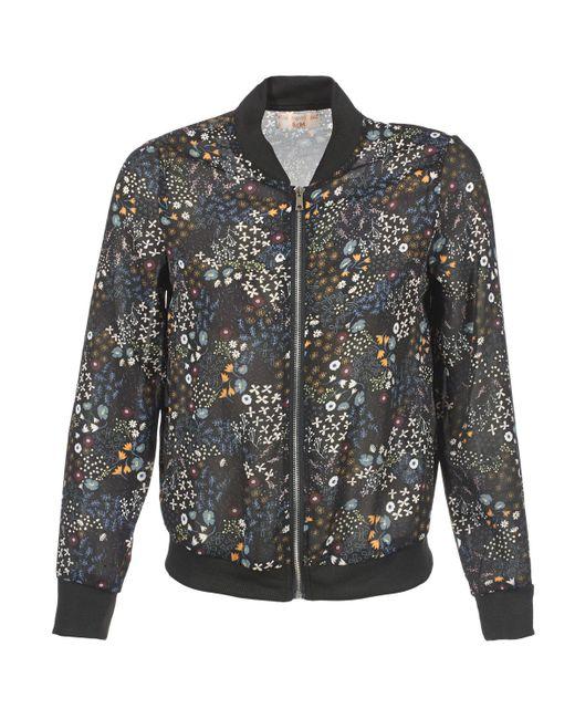 Moony Mood - Black Fleuril Jacket - Lyst