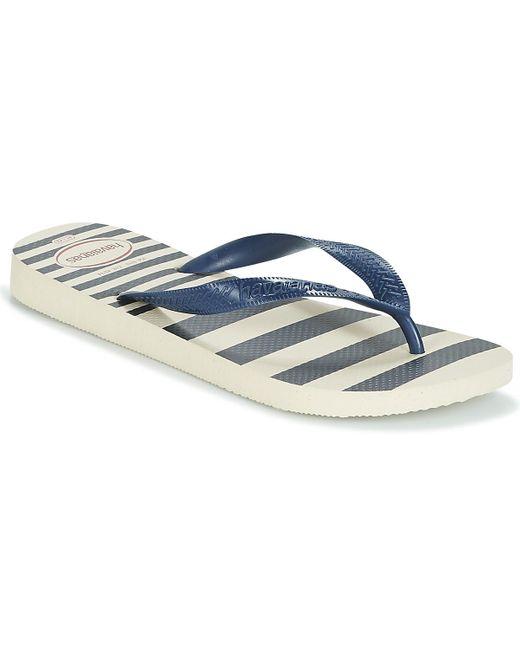 52b85777693ff Havaianas Top Retro Flip Flops / Sandals (shoes) in Blue for Men ...
