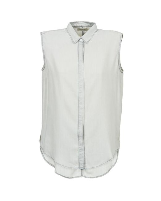 Calvin Klein Gray Fluid Shirt Shirt
