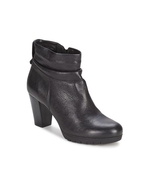 Keys | Black Room Low Ankle Boots | Lyst