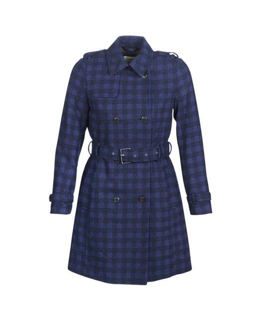 Esprit Blue Vrassa Coat