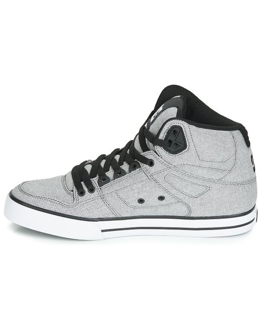ae28e4667ff85 DC Shoes Pure Ht Wc Txse M Shoe Gry Shoes (high-top Trainers) in ...