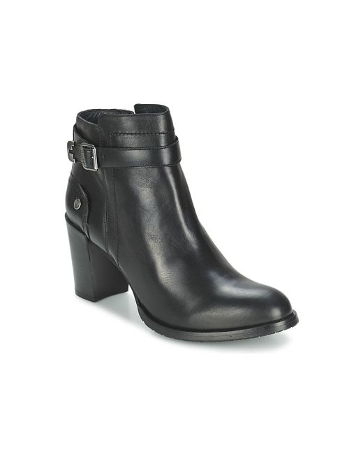 Tommy Hilfiger | Black Penelope 3a Low Ankle Boots | Lyst