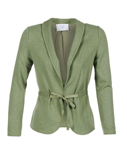 Le Temps Des Cerises - Green Sillex Jacket - Lyst
