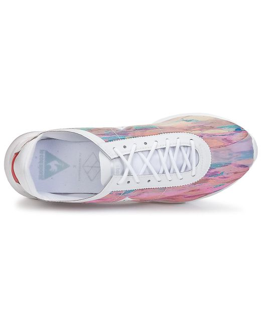 0435281e560f ... Le Coq Sportif - Multicolor Wendon Levity Woman Pastel Cloud Jacquard  Shoes (trainers) ...