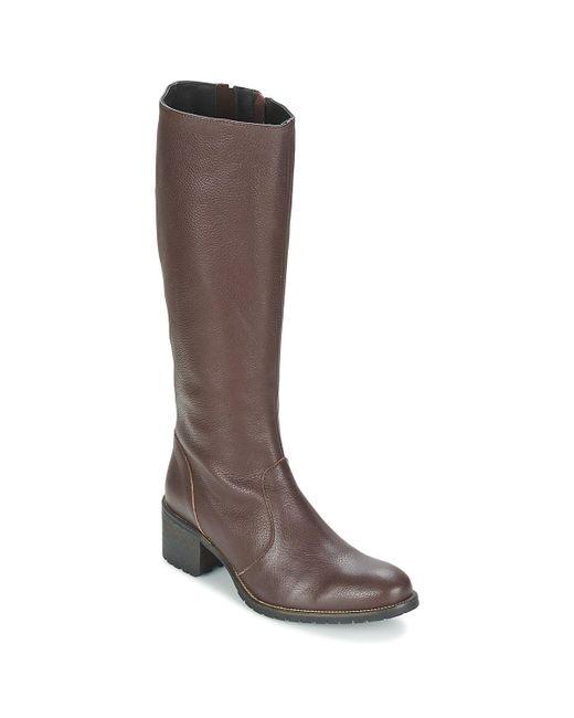 Betty London - Brown Irma High Boots - Lyst
