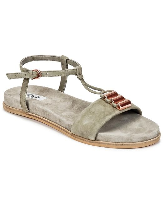 Lyst Cool Gray Clarks Agean In Sandals XAZZ1