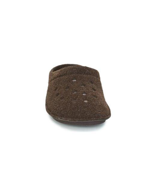 Crocs™ Brown Classic Slipper Flip Flops